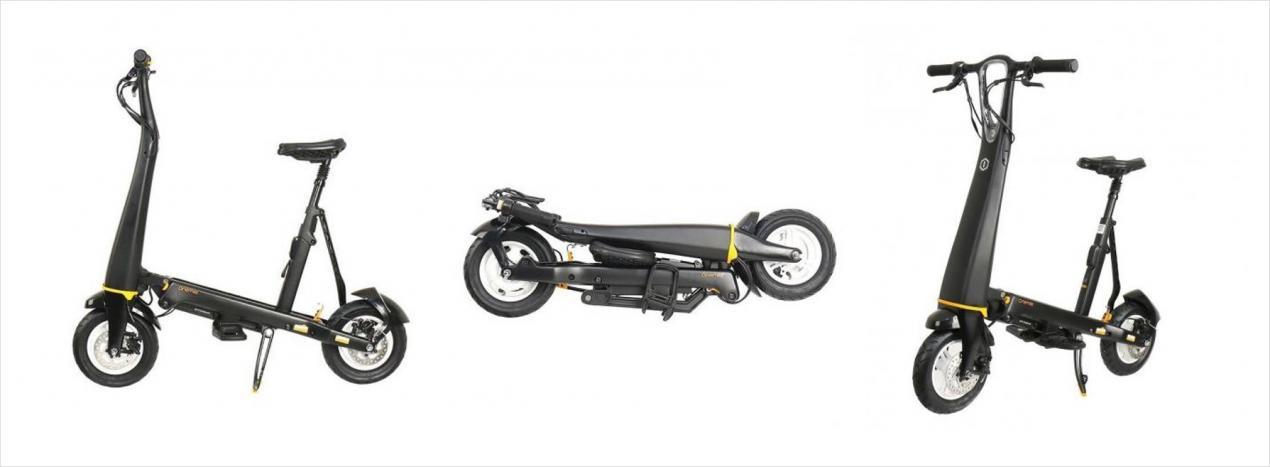 nouveau halo city scooter electrique pliable en noir metallisé vendu en france.jpg