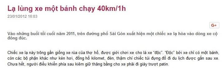 Lạ lùng xe một bánh chạy 40km 1h aa.jpg